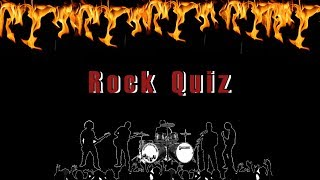 Guess The Rock Song! Ultimate Rock Music Quiz 2018 (25 Songs)
