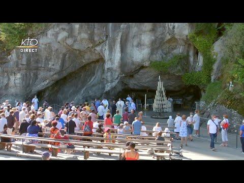 Messe du 31 juillet 2020 à Lourdes