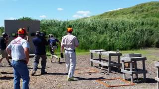 Jerry Miculek at the Hornady zombie shoot 3 gun competition FAST!!!
