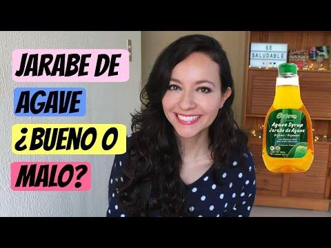 Jarabe|Néctar de agave ¿bueno o malo?