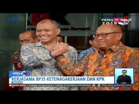 BPJS Ketenagakerjaan Bekerjasama Berantas Korupsi Bersama KPK - SIS 14/02