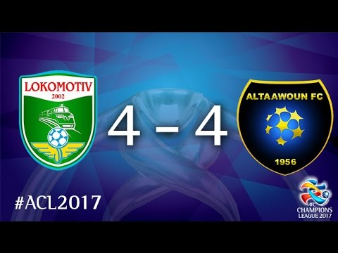 PFC Lokomotiv vs Al Taawoun FC (AFC Champions League 2017 : Group Stage)