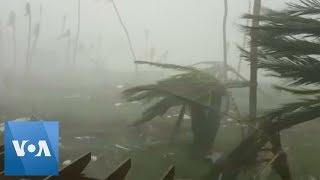 New Video Of Hurricane Dorian Shows Moment Of Bahamas Strike