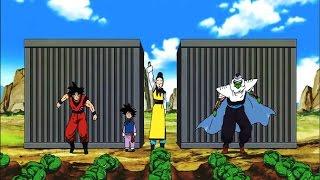 Goku Entrena Con Piccolo Cosechando Lechugas [ Dragon Ball Super]