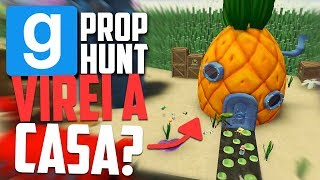 MELHOR ESCONDERIJO do MUNDO! - Garry's Mod Prop Hunt