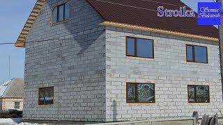Переехали из города в деревню для строительства дома за миллион рублей Семья Булатовых
