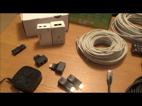 How to Install HDMI over CAT5e / CAT6 Ethernet Cables