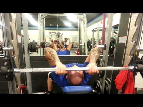 Smith machine tricep extensions