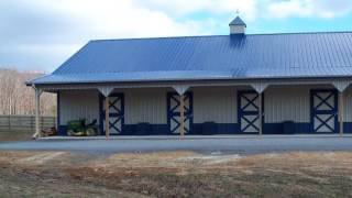 Metal Horse Barns Pa | Run In Sheds For Horses | Horse House Pa