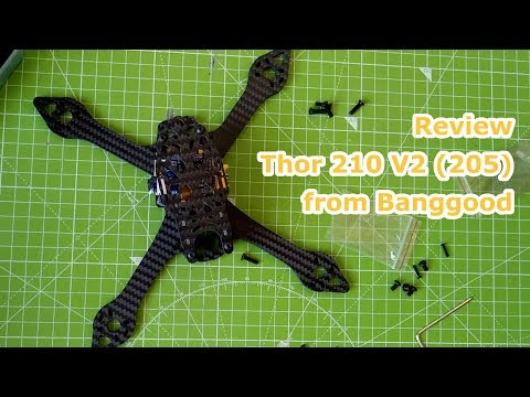 Unboxing Thor 210 V2 (205) from Banggood