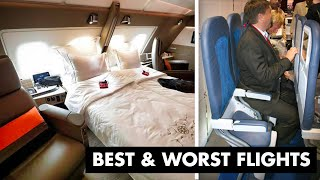 Top 3 Airplane Seats More Expensive than a CAR?!? (vs literally the WORST)