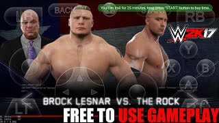 Wwe 2K17 Gloud Games Android Free To Use Gameplay By atoz gamerx