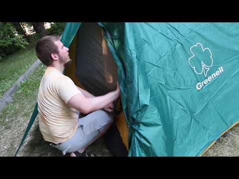 Кемпинговая палатка Greenell «Велес 4» v.2. Видеообзор.