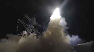 U.S. missiles hit Syria air base behind chemical attack - Video Youtube