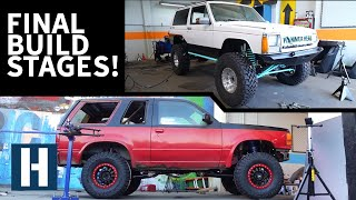 Build & Battle: Final Stages To Get the Explorer and XJ Competition Ready