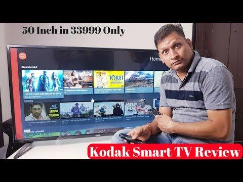 Kodak Smart 50″ FHD TV Unboxing & Review