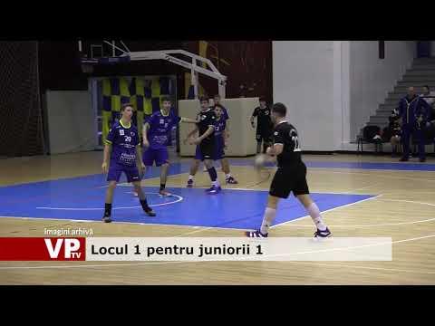 Locul 1 pentru juniorii 1
