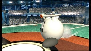 Super Smash Bros. Brawl: Classic Mode on Intense with Kirby (Crazy Hand Clear)