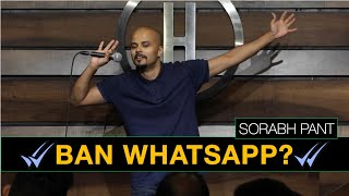 Uncles on WhatsApp? | Standup Comedy | Sorabh Pant