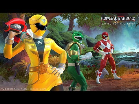 Gameplay Reveal de Power Rangers : Battle for the Grid