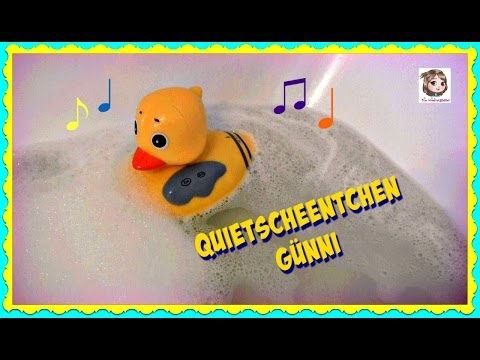 GÜNNI - das singende QUIETSCHEENTCHEN 💦 Radio für die Badewanne