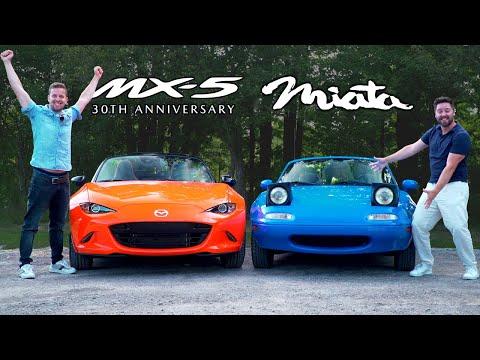 $40000 Mazda MX-5 vs $5000 MX-5 // 30th Anniversary Meets NA Miata