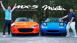 $40,000 Mazda MX-5 vs $5,000 MX-5 // 30th Anniversary Meets NA Miata