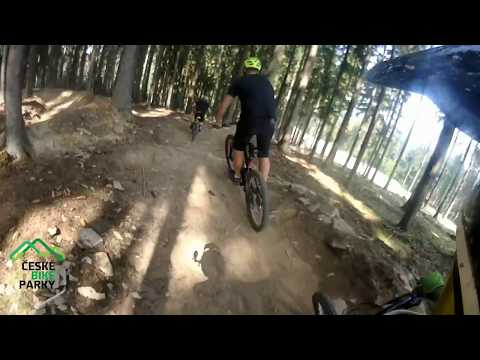 Bikepark Lipno Červená 2017