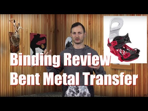The 2019 Bent Metal Transfer Snowboard Binding Review
