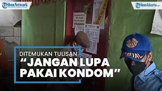 "Tulisan di Pintu Triplek Jadi ""Saksi Bisu"" Bisnis Prostitusi Kafe Kampung Bayam: Harus Pake Kondom!"