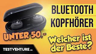 Die TOP 4 Bluetooth Kopfhörer unter 50 EURO - Enacfire E18 x Liberty Neo x MPOW T6 x Soundliberty 53