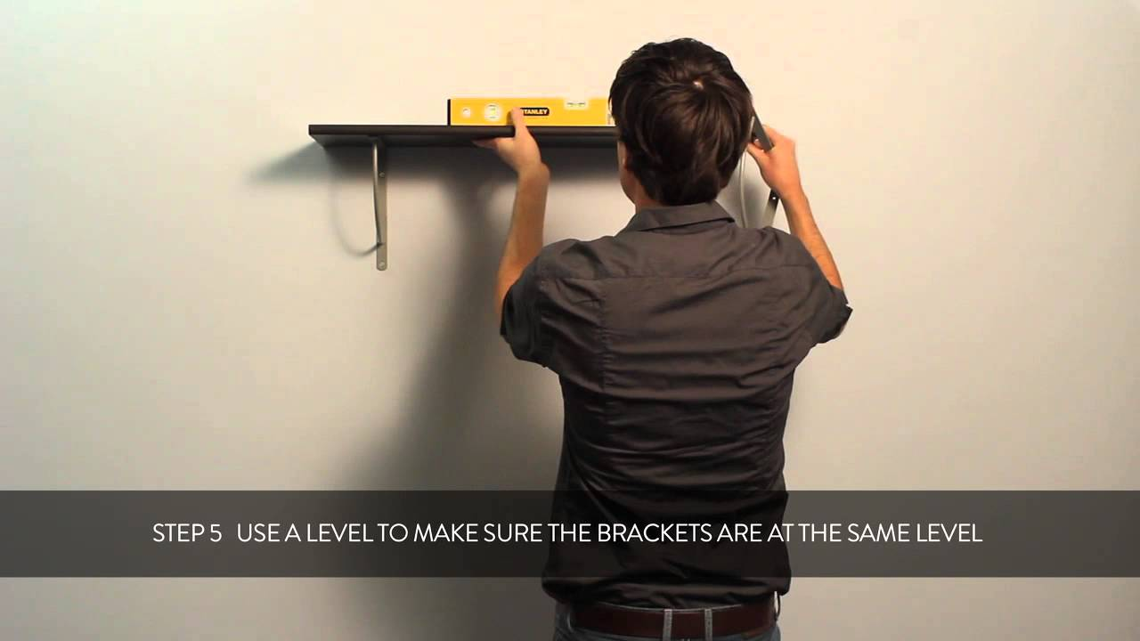 HOW TO: fixing a Duraline bracket to your wall