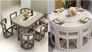 Small Dining Table Ideas Space Saving Furniture Design 2021