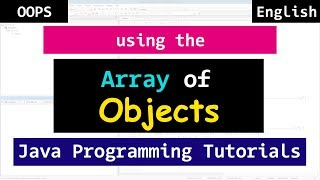 Array of Objects in Java   Object Oriented Programming Tutorial