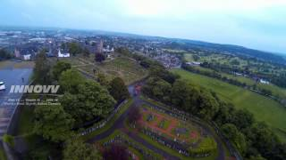 preview picture of video 'Stirling Castle .... DJI Fly Over .... INNOVV C1'