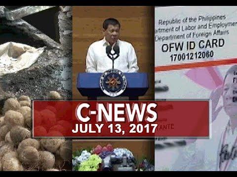 [UNTV]  UNTV:C-News (July 13, 2018)