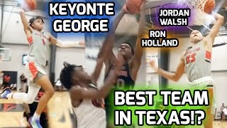 Keyonte George, Jordan Walsh, & Highly Ranked TX Prospects SHOW OUT In Dallas! Young Bulls Can HOOP🔥