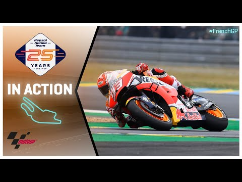 Honda in action: SHARK Helmets Grand Prix de France