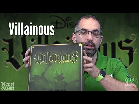 3 Things in 3 Minutes: Villainous Review