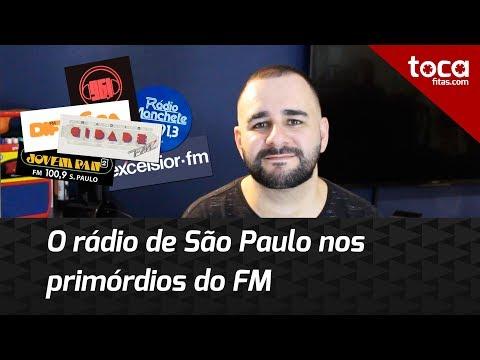 O rádio FM de São Paulo no começo dos anos 80