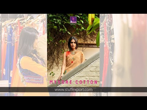 Shangrila Creation Mysore Linen Cotton Saree Catalog