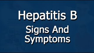 Hepatitis B - Pathophysiology