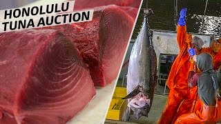 How America's Only Tuna Auction Is Run — Omakase