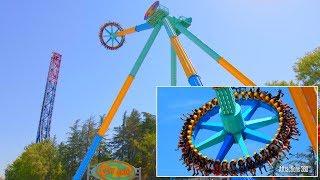 CraZanity -  World's Tallest Pendulum Ride - Six Flags Magic Mountains