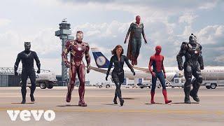 I am Rider Song - SATISFYA Imran Khan |  Iron Man vs Captain America (Chase scene) Gaddi Lamborghini