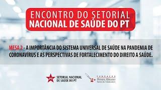#AOVIVO | A importância do SUS na pandemia e as perspectivas de fortalecimento do direito a saúde