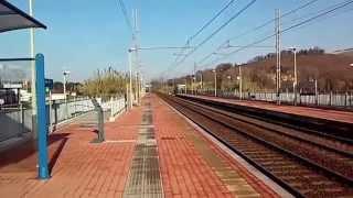 preview picture of video 'Treni alla stazione di Camerano Aspio'
