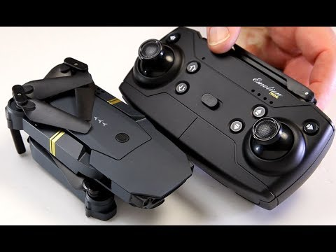 Eachine E58 Mavic Pro copy Folding Beginner drone Transmitter or APP control WiFi FPV HD w/a camera