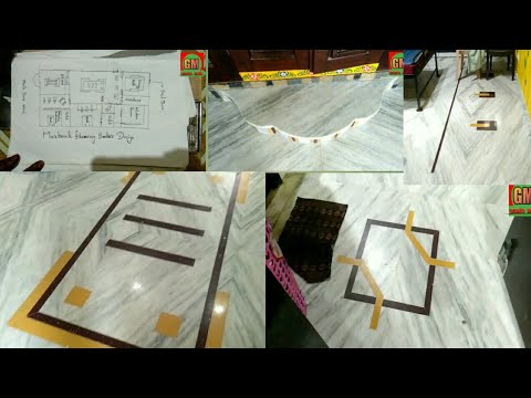 How to marble flooring border design planning