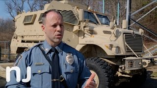 Why does the Howell PD need an armored vehicle?